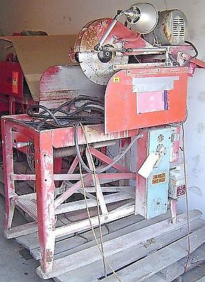 Clipper Masonry Saw SM-14 Commercial Tile Concrete Brick Stone Wet or Dry Blade
