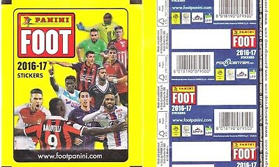 Panini Foot 2016 2017 Pochette Tuten Bustina Single Pack Mbappe Rookie Rc ???