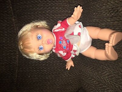 """Baby Face SO SURPRISED SUZIE Poseable 13"""" Doll Galoob 1990 LGTI Suzy Jointed"""