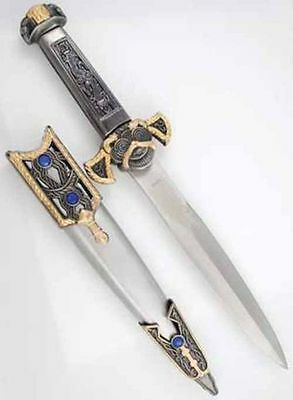 Two Tone Athame Dagger Knife Pagan Witchcraft Wiccan Ritual Altar Supply