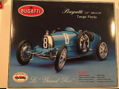 REVIVAL BUGATTI 35 1924 -1926 Grand Prix Car Model 1/20 Scale Mint in Box