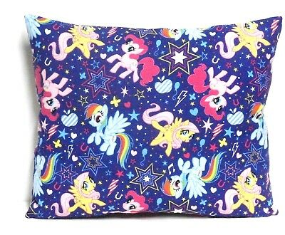 My Little Pony Toddler Pillow on Purple 100%Cotton MLP12-1 New Handmade