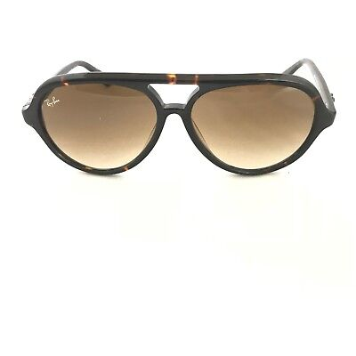 fd88122059 RAY BAN RB4125 CATS 820/A5 Stripped Havana / Pink Gradient Brown ...