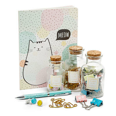 Cat's Meow Deluxe Stationery and Desk Set!