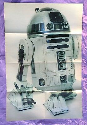Vintage 1977 Star Wars Official Poster Monthly Issue # 7 Paradise Press R2-D2