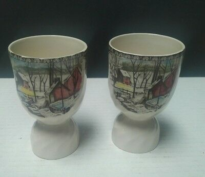 Johnson Brothers THE FRIENDLY VILLAGE (MADE IN ENGLAND) Double Egg Cup