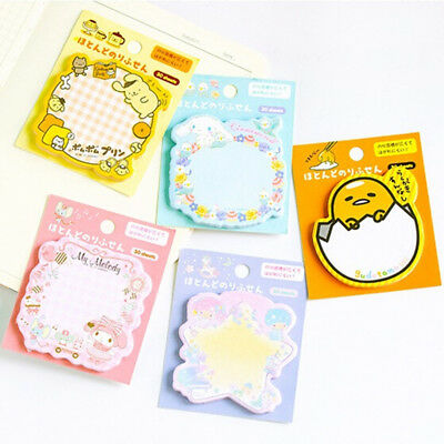 Kawaii Sticky Note Post Memo Pad School Supplies Planner Stickers Paper Bookmark