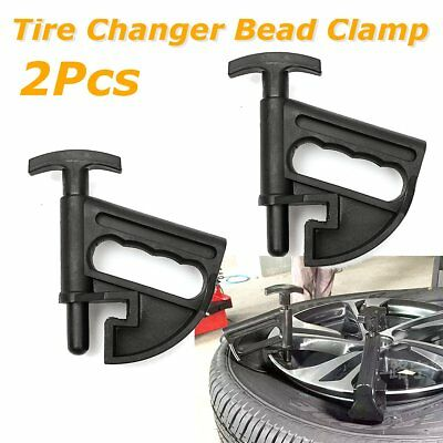 2Pcs Tire Changer Bead Clamp Manual Portable Hand Tire Changer Bead Breaker