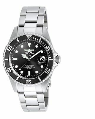 Invicta 8932OB Men's Pro Diver Black Dial SS Bracelet Dive Watch         3
