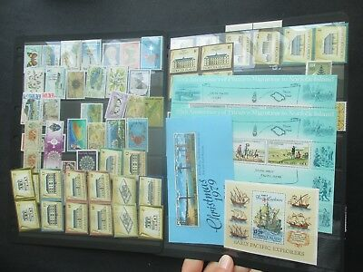 ESTATE: Norfolk Island Collection on Hagners Part 4 - great mix of issues (3763)