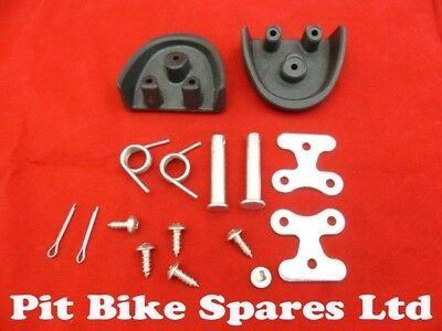 Pit Bike Supermoto Replacement Foot Peg Sliders With Fitting Kit.