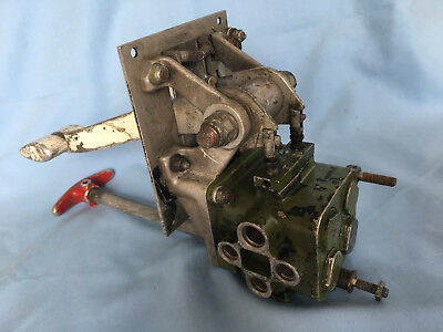 GRUMMAN AVENGER TBM AIRCRAFT UNDERCARRIAGE AND FLAP SELECTOR WW 2 1940's