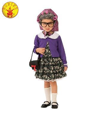 NEW Little Old Lady Dress Up Costume - Child - Size 5-7 years
