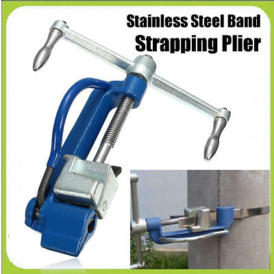 Stainless Steel Band Strapping Plier Strapper Clasp Manual Binding Cutting Tool