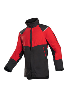 SIP Innovation Forestry Jacket Red/Black- (Non Protective) 1SKV
