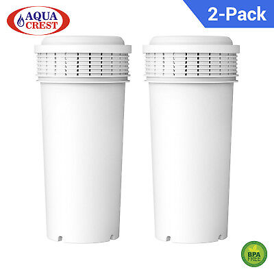 2 x EcoAqua Water Filter Replacement for Tommee Tippee Perfect Prep Machine
