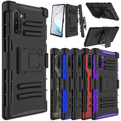 For Samsung Galaxy Note 9 Phone Case Hybrid Rugged Holster Belt Clip Armor Cover