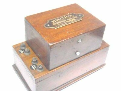 Brown's Electromechanical Radio Amplifier