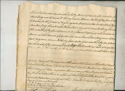 1772 Legal Document Deed Deal Albany Ny Volkert P Douw John Tunnicliff  Others