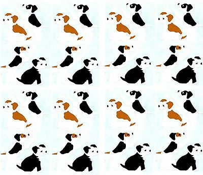 Dogs /& Puppies on Sleds Grossman/'s Stickers Mrs Winter Dog Fun 4 Strips