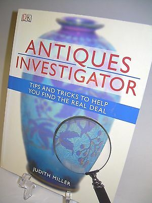 antiques investigator by judith miller 240 pages lots of color photos vgc