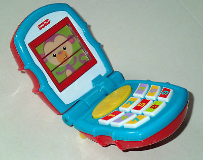 Fisher-Price TOY Mobile Phone Flip Cell Phone PLAYS Music for Toddler
