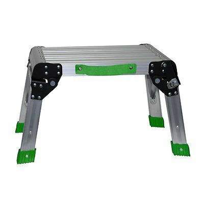 Goodyear 54095 Aluminum Step Stool And Working Plkatform
