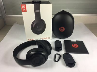 nuove BEATS by DR. DRE STUDIO3 WIRELESS cuffie over-ear headphones - MATTE  BLACK bc7f6da0bcd1