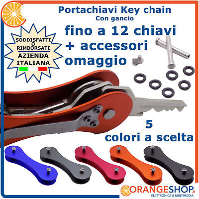 Portachiavi intelligente Key chain smart multi chiavi holder organizer gancio