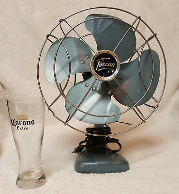 Vintage Rotor Electric Toronto, TORCAN 1066M Electric Fan, Works!