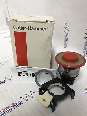 Eaton Cutler-Hammer  E22ED2 Red 40mm Push/Pull Button 2 Position