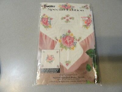 Bucilla Special Edition Heart of Roses Quilt Blocks #64516-New