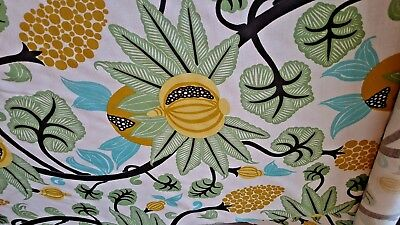 Osborne & Little Maharani linen cotton fabric UK designer/mfgr up to 10yds