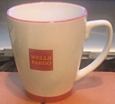 Wells Fargo RED Logo ceramic Coffee Mug