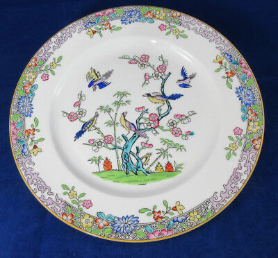 Minton Emperor's Garden Purple Scrolls Dinner Plate Discontinued. Actual: 1923