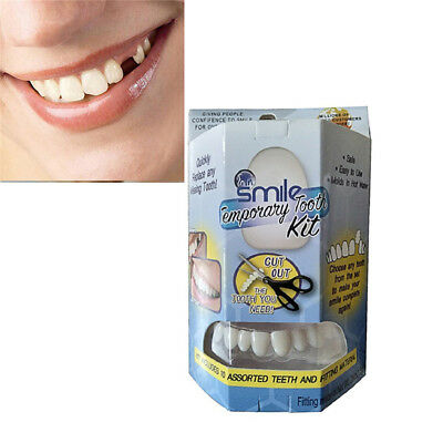Smile Temporary Dental Stickers Tooth Kit Replace Missing Tooth in Minutes