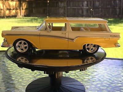 1957 FORD DEL Rio Ranch Wagon Adult Built Model Car 1/25 Scale
