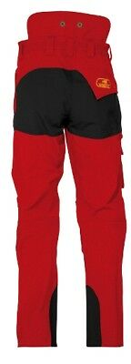 SIP  Progress Work Trousers Red/Black - Protective Workwear  1SSP