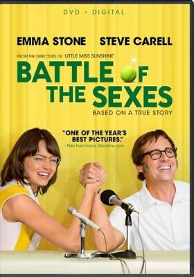 The Battle of the Sexes (DVD,2017)