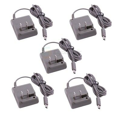 5-Pack Home Wall Charger AC Power Adapter Supply for Nintendo DS Lite DSL NDSL