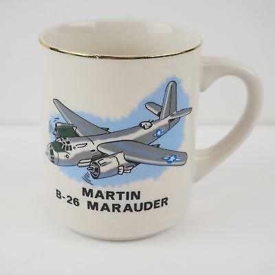 Vintage Martin B-26 Marauder Coffee Cup - Good Condition