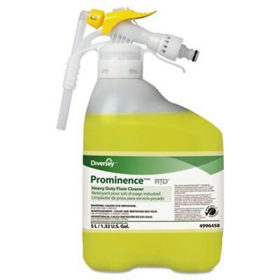 Diversey 94996458 Prominence Heavy-Duty Floor Cleaner, Citrus, 5 L, RTD