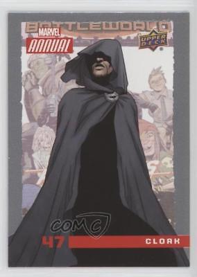 2016 Upper Deck Marvel Annual #47 Cloak Non-Sports Card 2a1