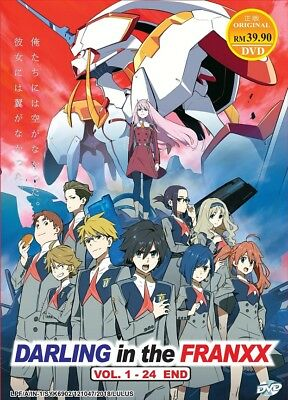 DVD Anime Darling In The FranXX Complete Series (1-24) English Dub All Region