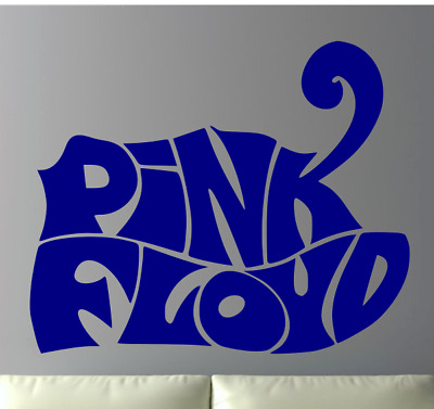 """Pink Floyd 22"""" Wide Large Wall Vinyl Decal - Your Choice Of Color - Removable"""