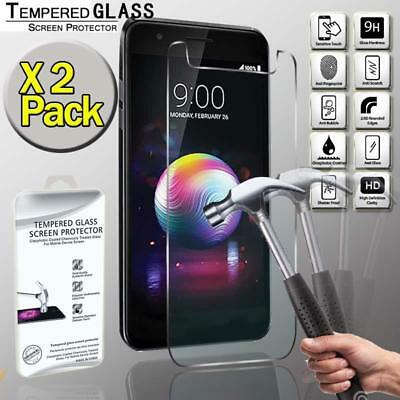 2 Pack Tempered Glass Film Screen Protector  For LG K30