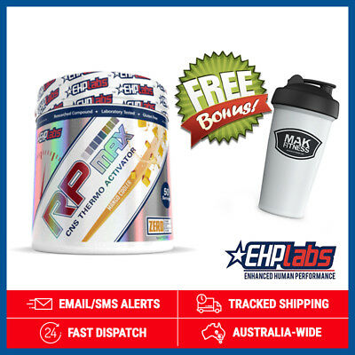 RP Max Pre-Workout *Mango Coooler* by EHPlabs (325g) + Shaker