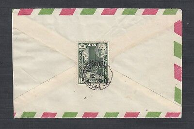Aden State Of Hadhramaut 1960 Airmail Cover Hureidia Domestic Usage
