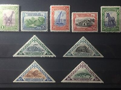 Scott #175-183 Mozambique Company Stamps Mnh Nice!