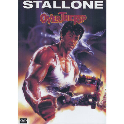 Over The Top - SYLVESTER STALLONE - Dvd = (MOD) Free Au Post  =